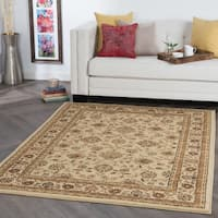 Alise Ivory Traditional Area Rug - 7'6 x 9'10