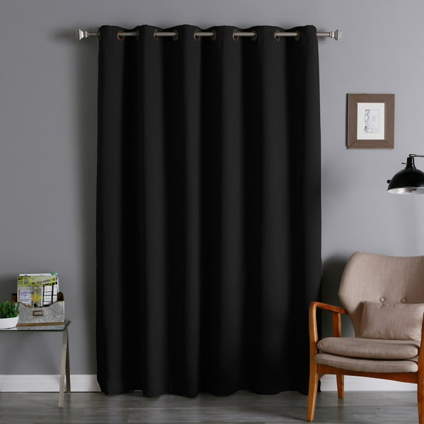 Wide Width Thermal 80 X 84 Inch Blackout Curtain Panel