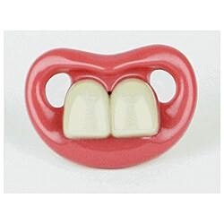 Two Front Teeth Baby Bugs Pacifier