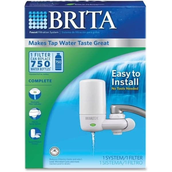 Brita Ultra Faucet Mount Filter System 13548108