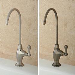 Restoration Chrome Water Filter Kitchen Faucet