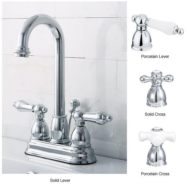 Chrome High Arc Bathroom Faucet 13563888 Overstock Com