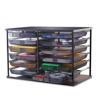 Safco Low Profile Desk Top Organizer 12580981