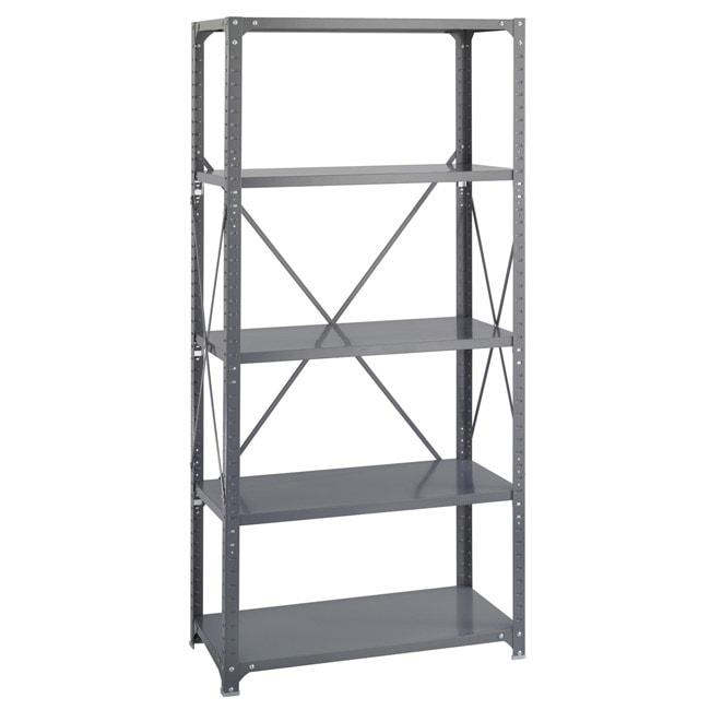 Safco 5 Shelf 36 Inch Wide X 18 Inch Deep X 72 Inch High