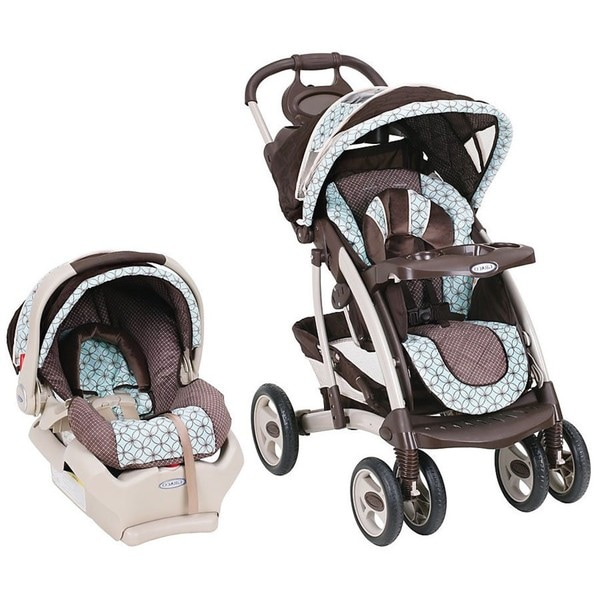 Graco Quattro Tour Deluxe Travel System In Bear Friends