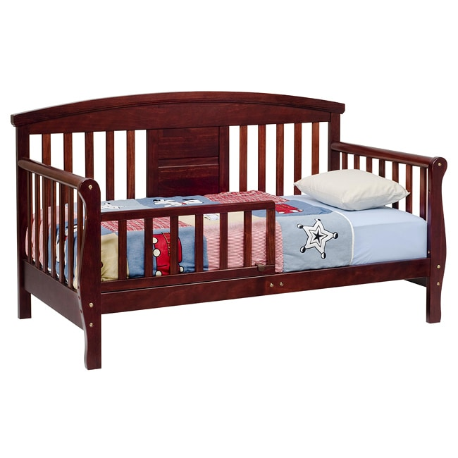 Toddler Bed Offers: DaVinci Elizabeth II Convertible Toddler Bed In Cherry
