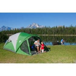 Coleman Evanston Six Person Camping Tent With Screened