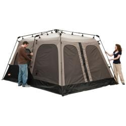 Coleman Black And Gray Instant Two Room Eight Person Tent