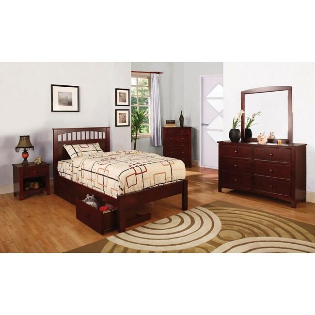 Discount Childrens Bedroom Furniture: Furniture Of America Gavin Full-size Platform Bed Set