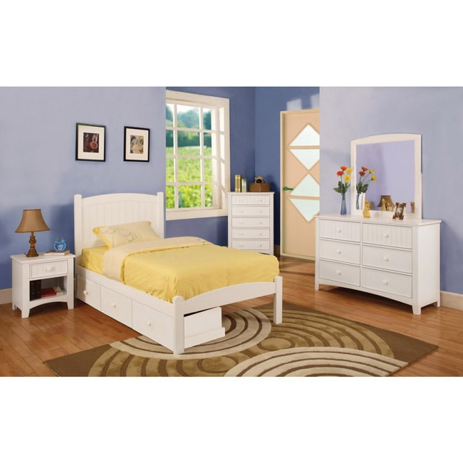 Discount Childrens Bedroom Furniture: Furniture Of America Thea Platform Full Size Bed And Three