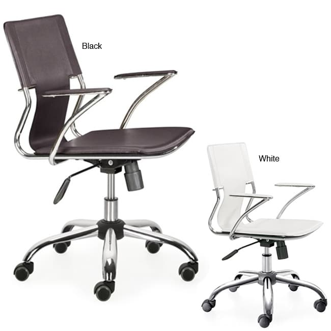 Overstock Office Furniture: Elegant Leatherette Office Chair