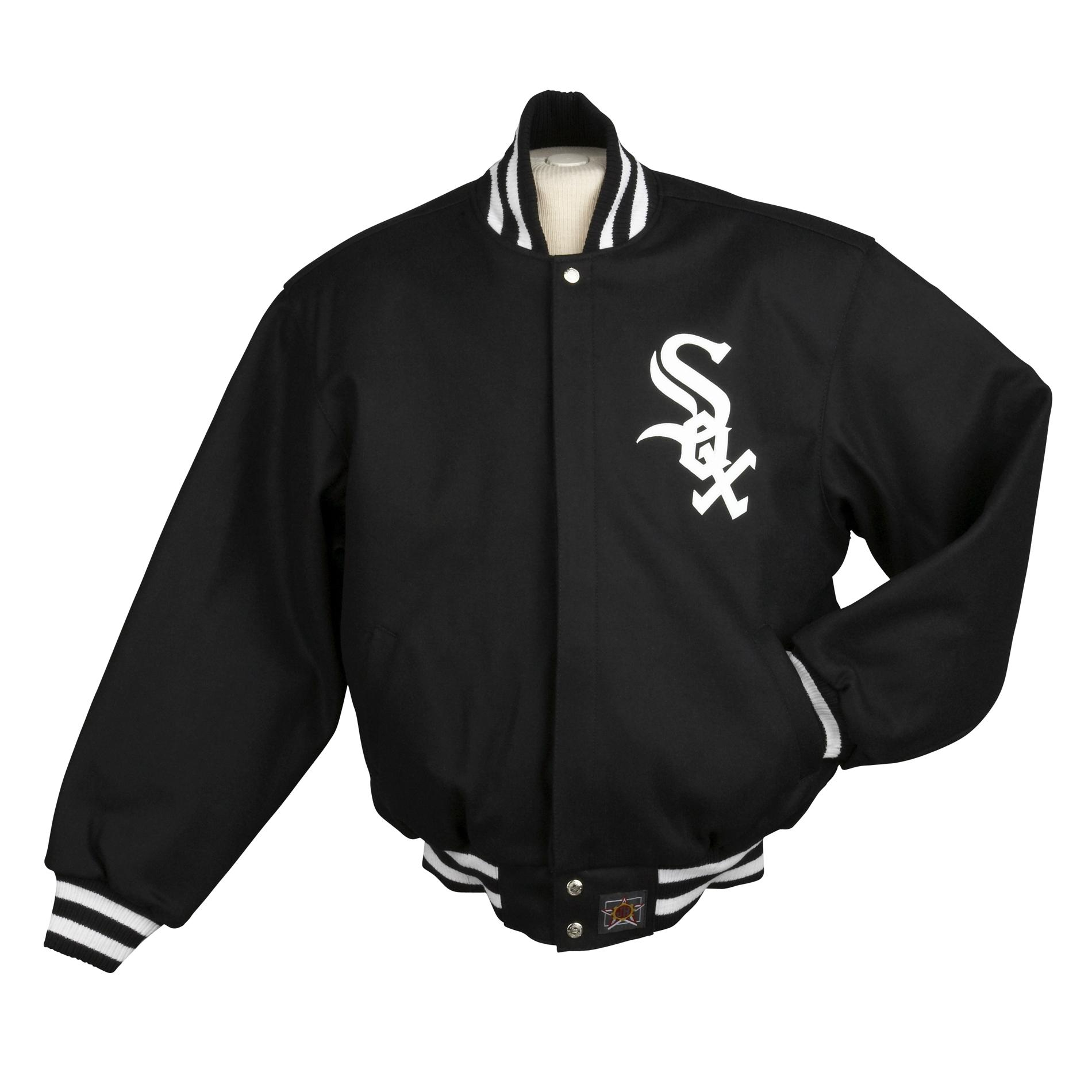 Jh Designs Men S Chicago White Sox Domestic Wool Jacket