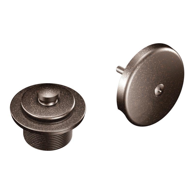 Moen Oil Rubbed Bronze Tub Shower Drain Cover 13667492