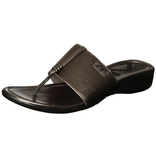 Ak Anne Klein Sport Women S Koppa Thong Sandal