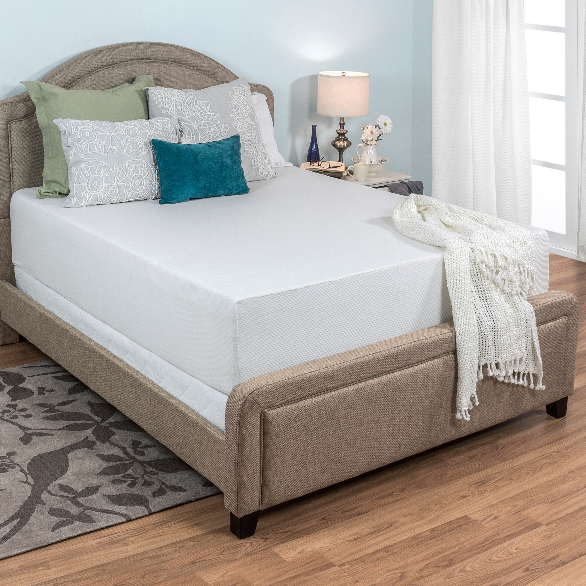 Good Inexpensive Furniture: #1Cheap Select Luxury Medium Firm 14-inch King-size Memory