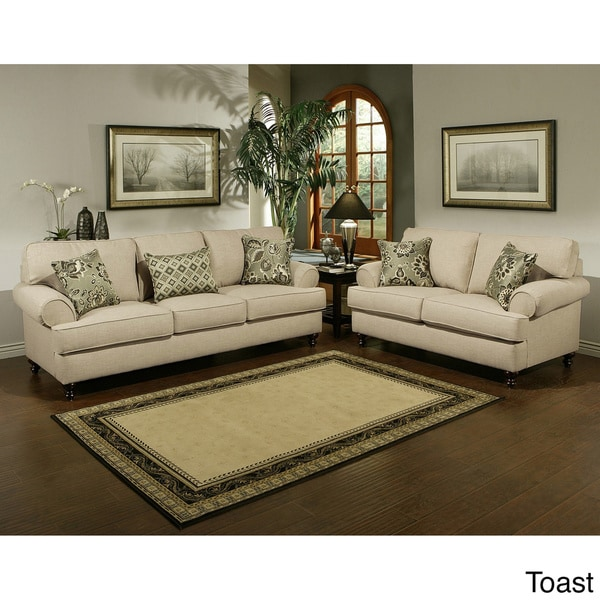 Us Furniture Deals: Furniture Of America Prosper Sofa And Loveseat Furniture