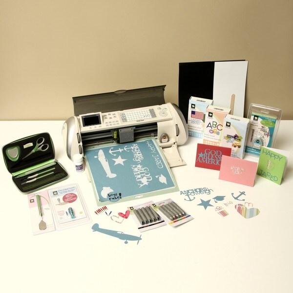 Cricut Expression Machine with 4 cartridges and Bonus Bundle