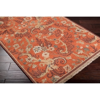 Hand Knotted Reversible Venus Wool Rug 9 X 12