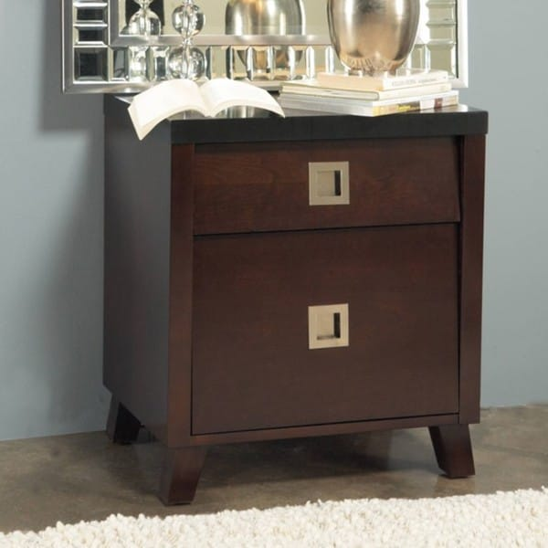 Angelo Home Marlowe Charging Station Nightstand 13679182 Overstock Shopping