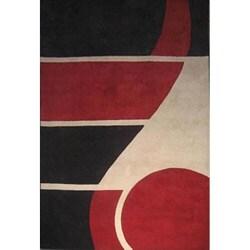 Postmodernist Venn Diagram Milano Turkish Area Rug 8 X