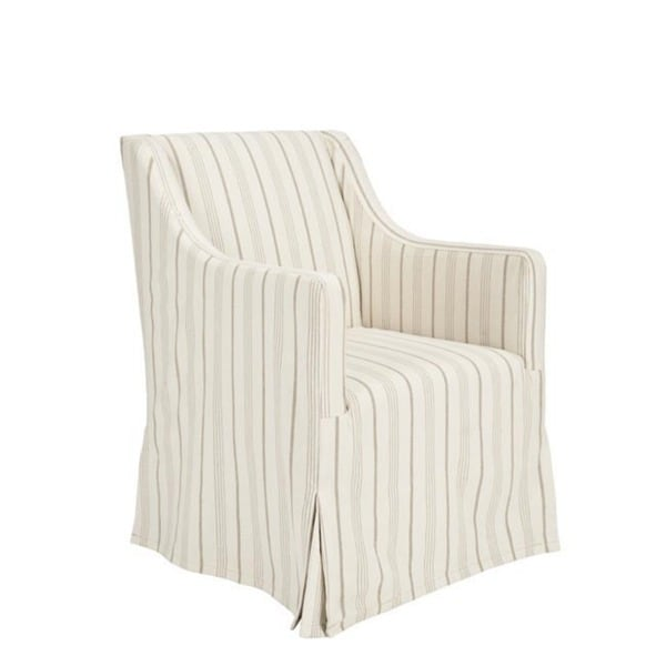 Living Room Chair Covers: Safavieh Cottage Slipcover Beige Living Room Chair