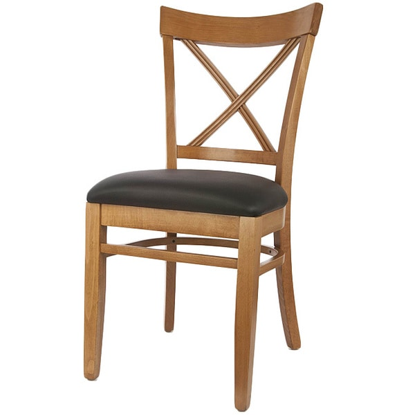 Tribecca Home Acton Warm Merlot X Back Casual Dining Side: X-back Solid Wood Dining Chairs (Set Of 2)