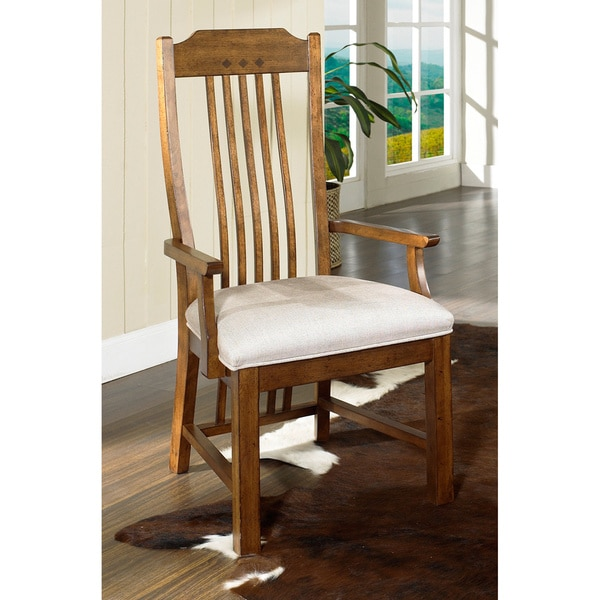 Somerton Dwelling Craftsman Dining Arm Chairs (Set Of 2