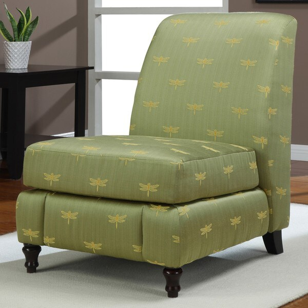 Regina Dragonfly Armless Chair 13687220 Overstock Com