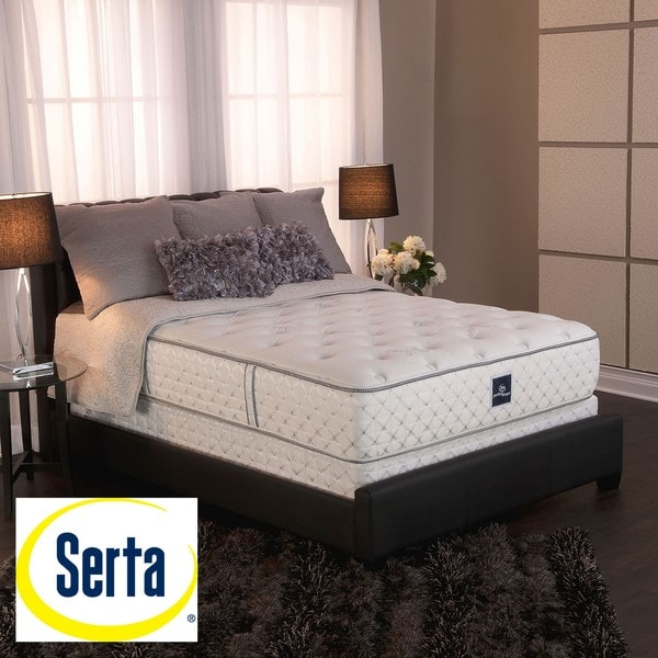serta perfect sleeper ultra modern firm king size mattress and box spring set 13692133. Black Bedroom Furniture Sets. Home Design Ideas