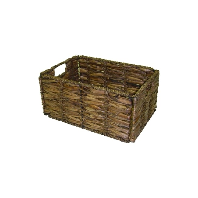 Small Two-tone Walnut Storage Baskets (Pack Of 6