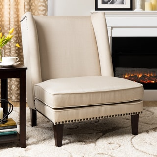 Cleo Dark Brown Leather Chaise Overstock Shopping