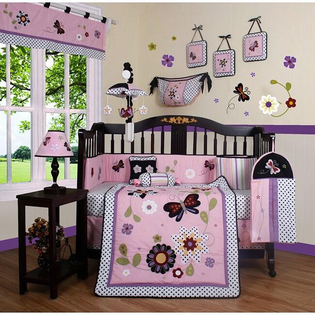 Geenny Daisy Garden 13 Piece Crib Bedding Set 13693976