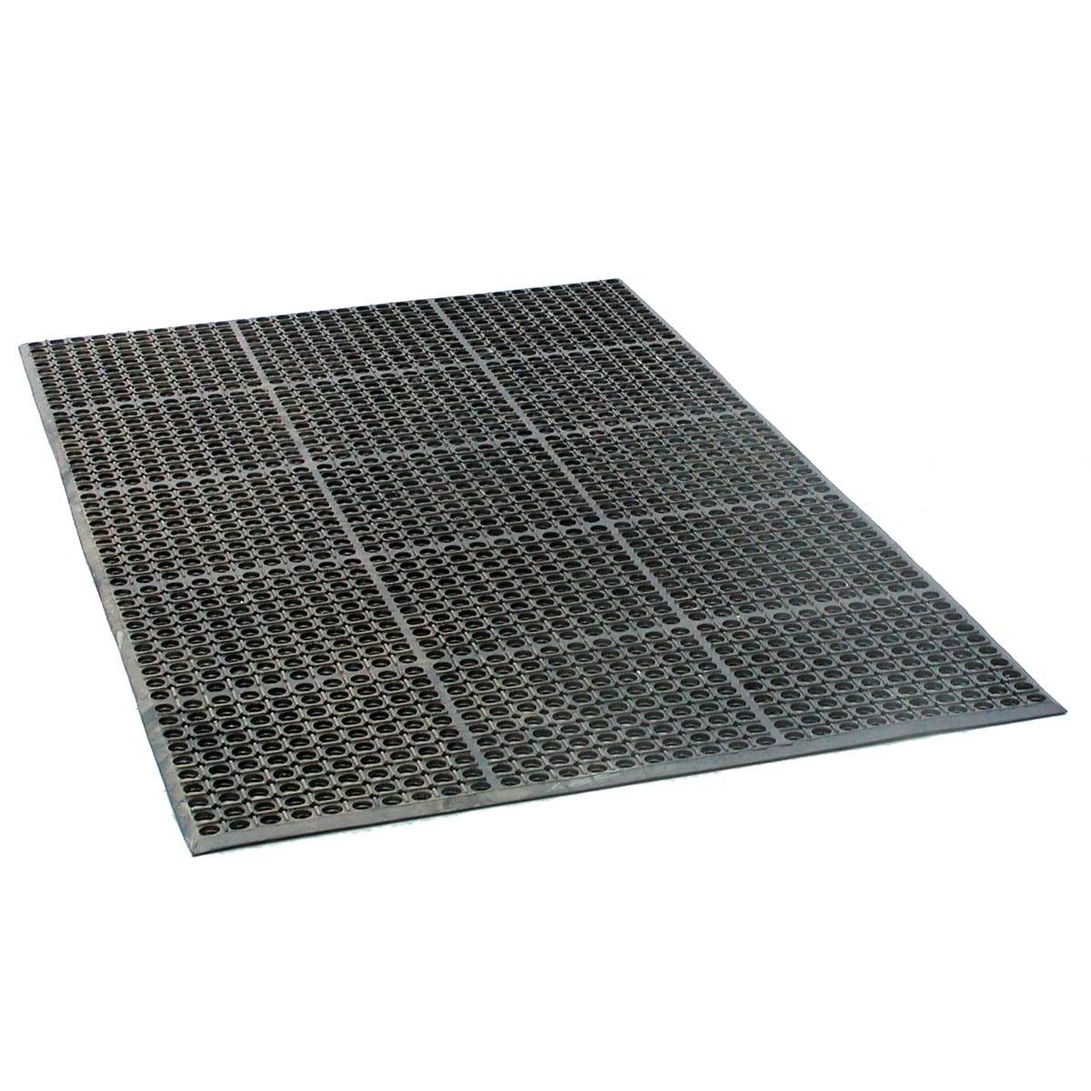 New 3'x5' Rubber Mat Flooring Runner Rolls Outdoor Indoor ...
