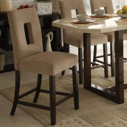Low Price Belveder Espresso Counter Height 7 Piece Dining Set