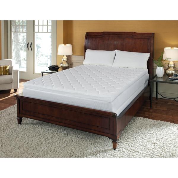 Pillow Top 12-inch California King-size Memory Foam ...