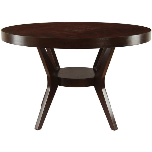 Overstock Dining Room Tables: Furniture Of America Pyrennes Espresso Dining Table