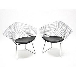 Astonishing Check Price Wire Diamond Chairs Table050209 Creativecarmelina Interior Chair Design Creativecarmelinacom
