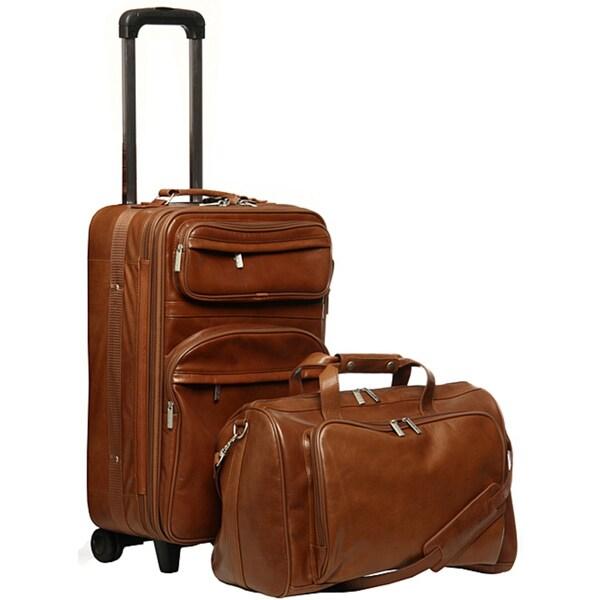 World Traveler Leather Luggage