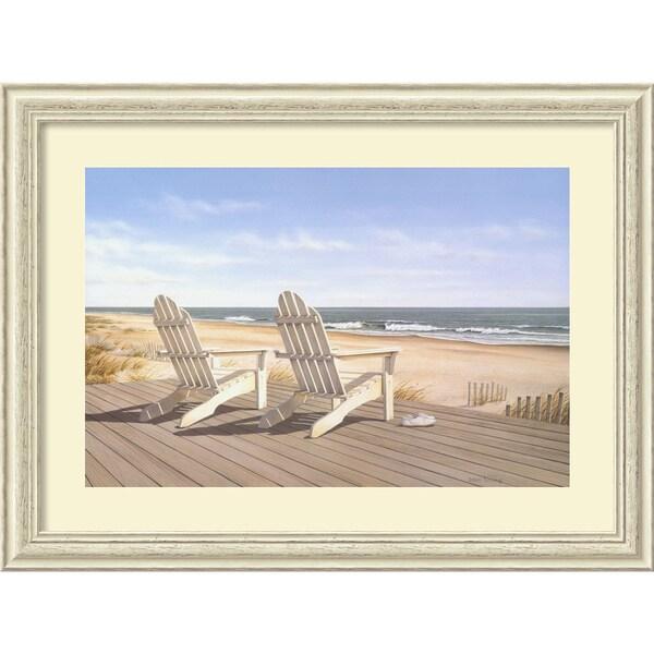 Daniel Pollera Point East Framed Art Print 13779095