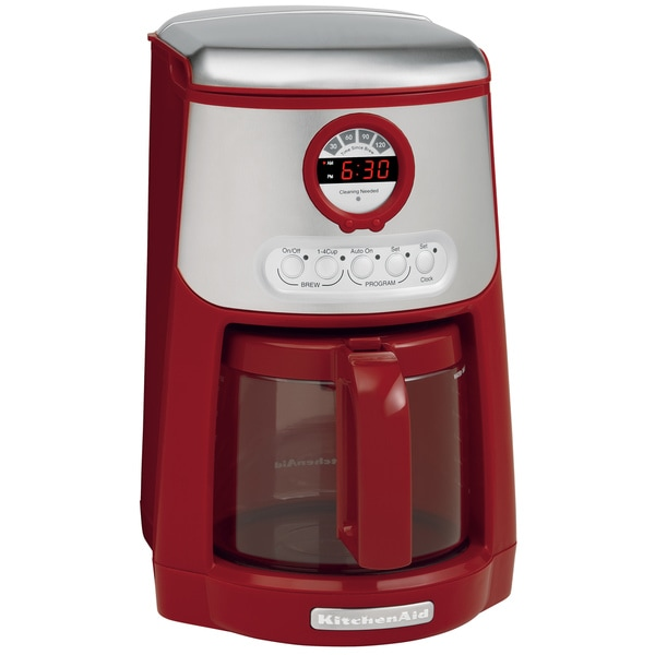 Kitchenaid Coffee Maker Red