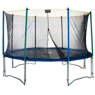 Trampoline Amp Enclosure Set With Easy Assemble 12 Foot