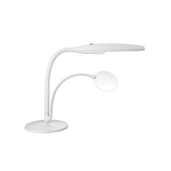 Daylight Company Table Top Craft Lamp With Magnifier 13813236 Overstock Com Shopping Big