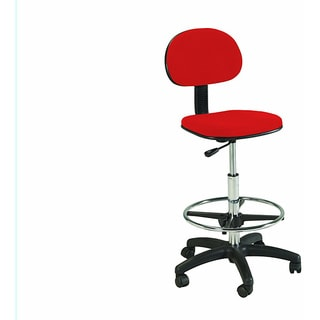 Office Star Chrome Finish Drafting Chair 10812797