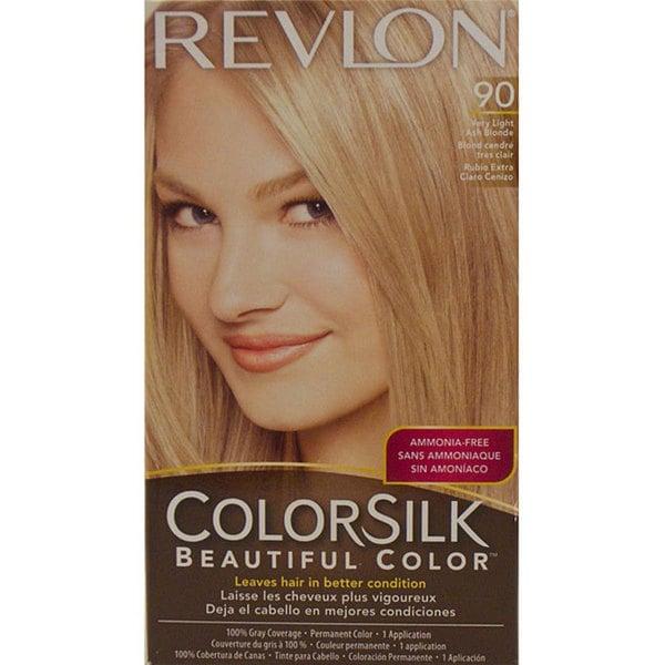 Revlon Colorsilk Very Light Ash Blonde 90 Hair Color