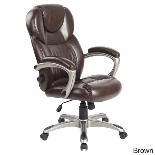 Overstock Office Furniture: Comfort Products Granton Executive Chair With Adjustable