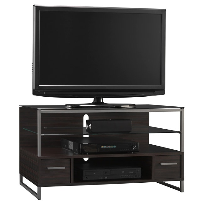 bush furniture my space ara 42 inch tv stand 13822845 shopping great deals. Black Bedroom Furniture Sets. Home Design Ideas