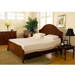 Sleep Zone Premium Adjustable Bed And 8 Inch Split King