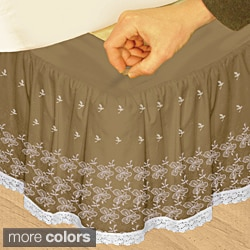 King Bedskirts Overstock Shopping The Best Prices Online