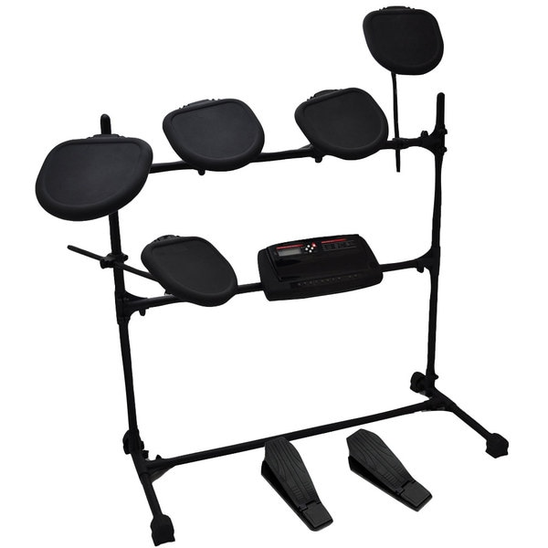 Pylepro Professional Electric Drum Kit Double Braced