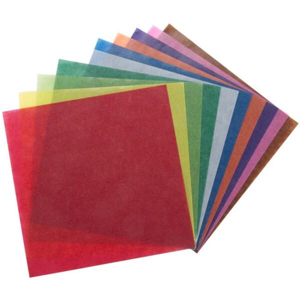 Folia Origami Transparent Paper Pack Of 500 13863057